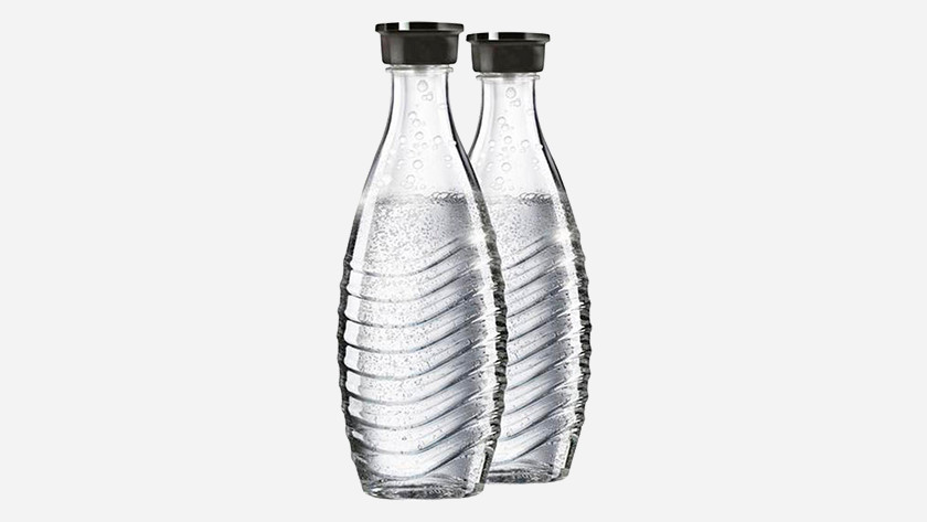 Glass SodaStream bottle