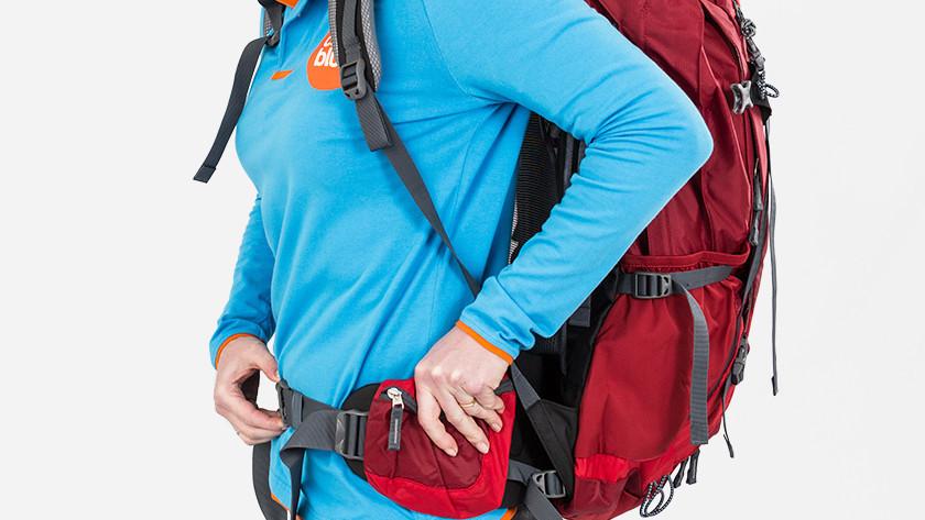 Heupband backpack bevestigen