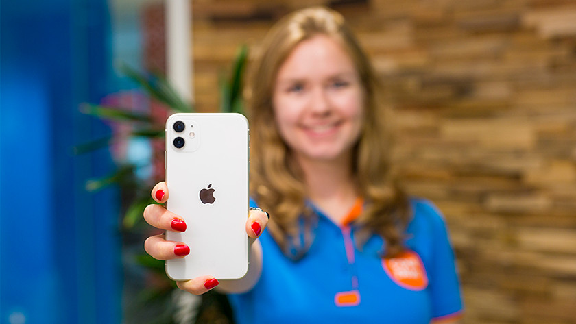 L'arrière de l'iPhone 11