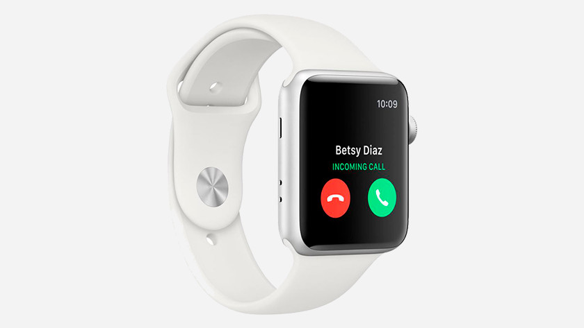 Bellen met Apple Watch