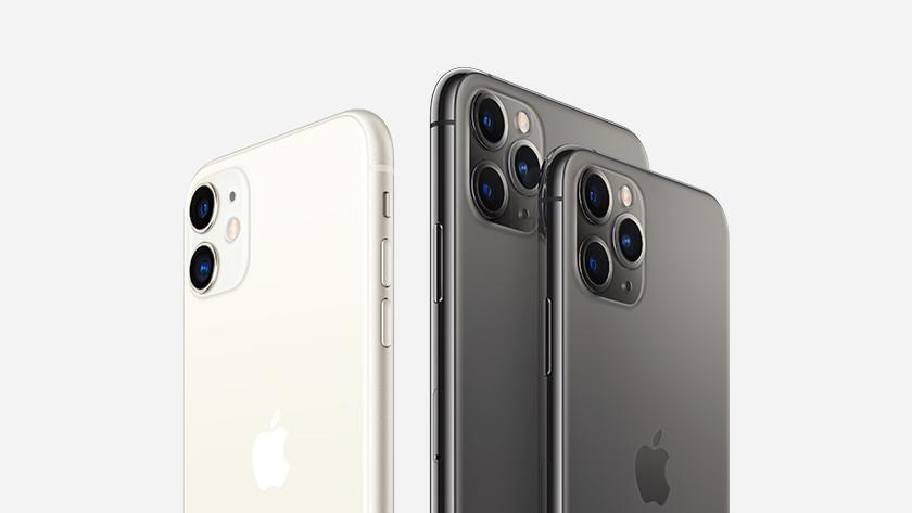 iPhone 11 en iPhone 11 Pro (Max)