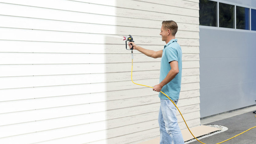 Paint sprayers with the right spray distance