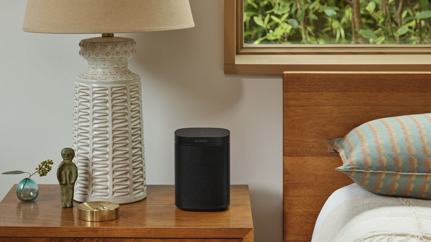 Wifi speaker in slaapkamer