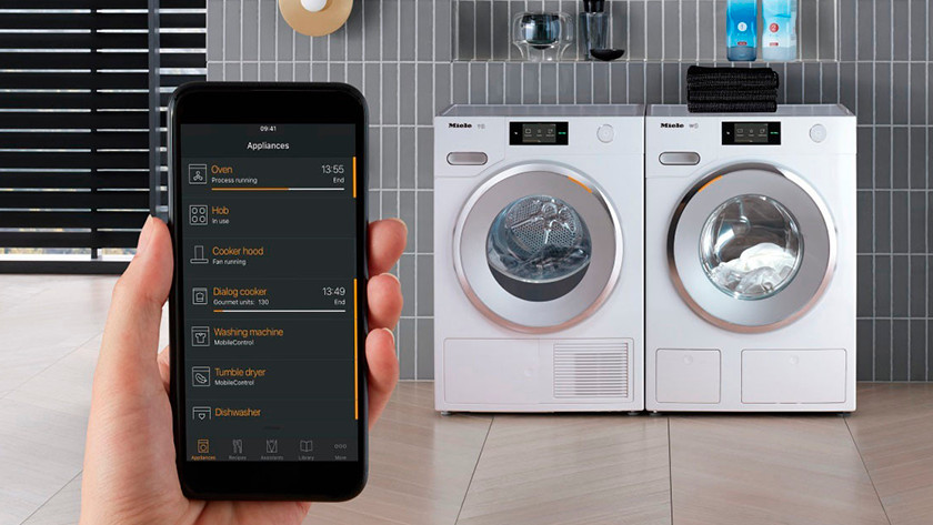 Miele washing machine with WiFi
