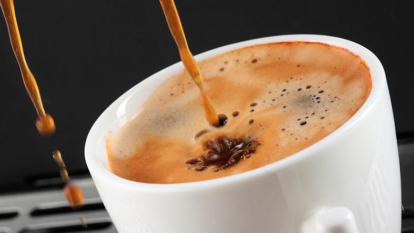 Temperatuur van de koffie aanpassen