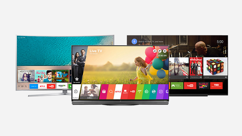 Smart tv platforms vergelijken