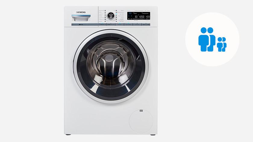 Wasmachine voor een gezin met 1 of 2 kinderen
