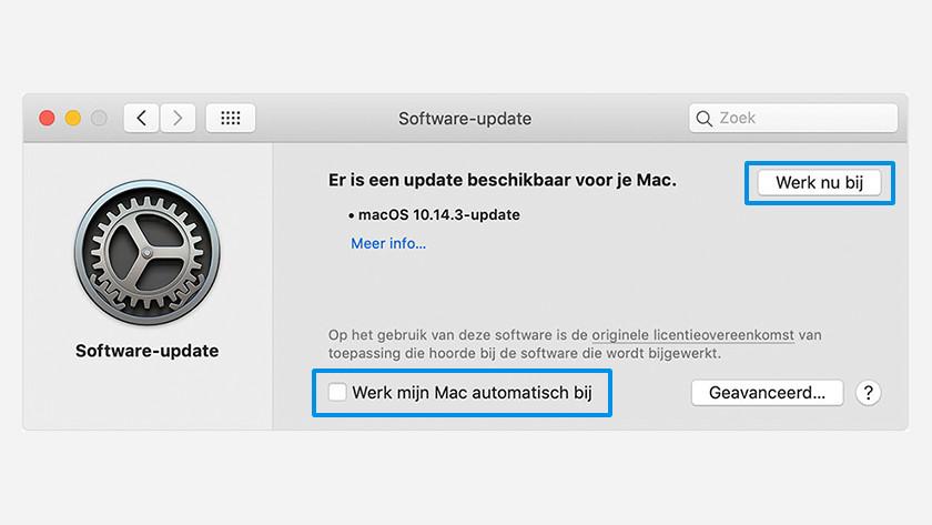 Apple MacOS handmatig updaten