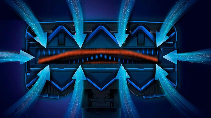 Philips SpeedPro Max 360 graden zuigrichting