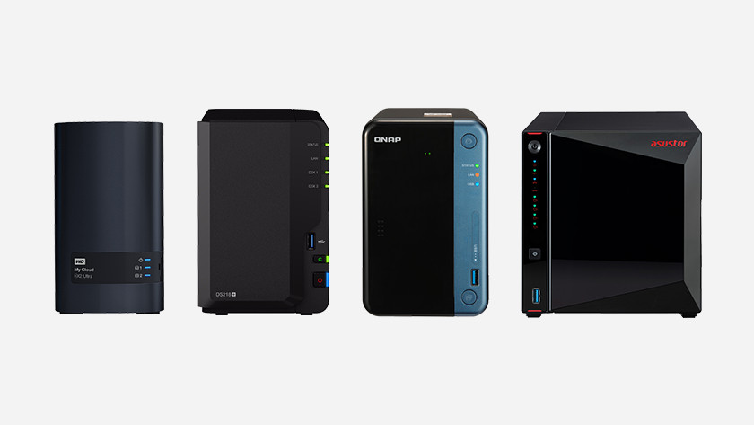 Synology, QNAP, Asustor of Western digital WD NAS