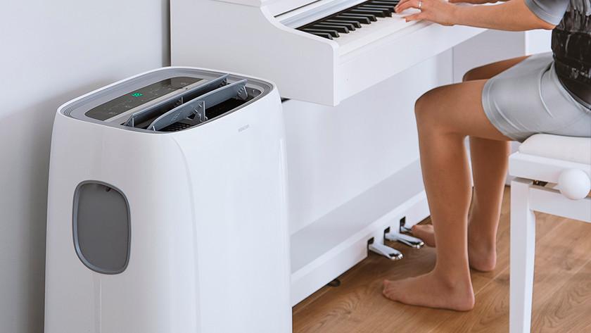 Noise level air conditioner