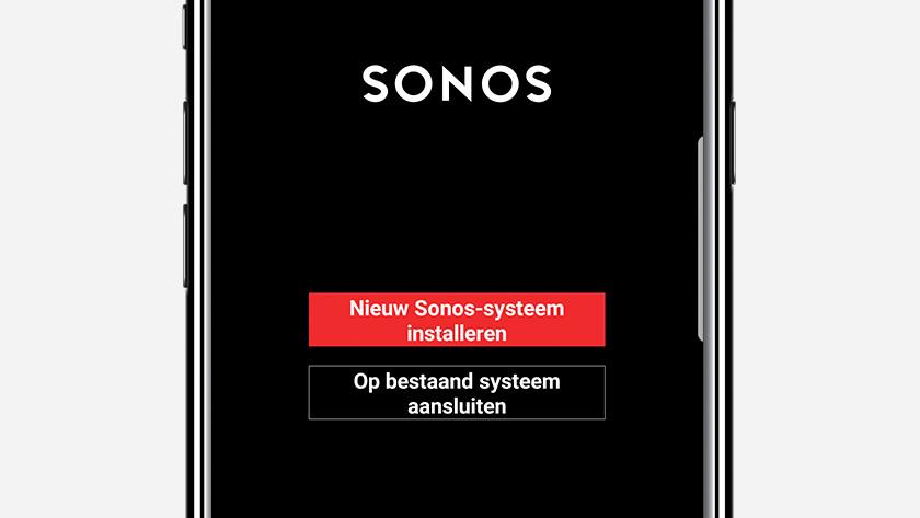 Stap 2: open de Sonos Controller app