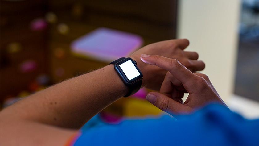Zaklamp Apple Watch