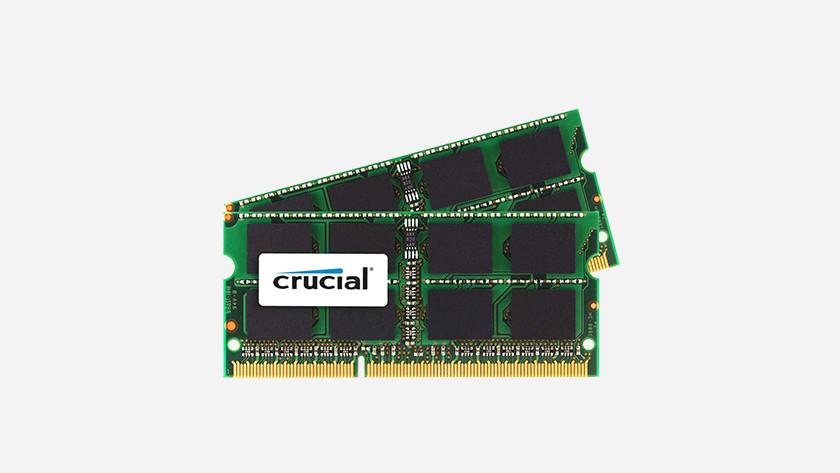 Mémoire RAM cruciale.