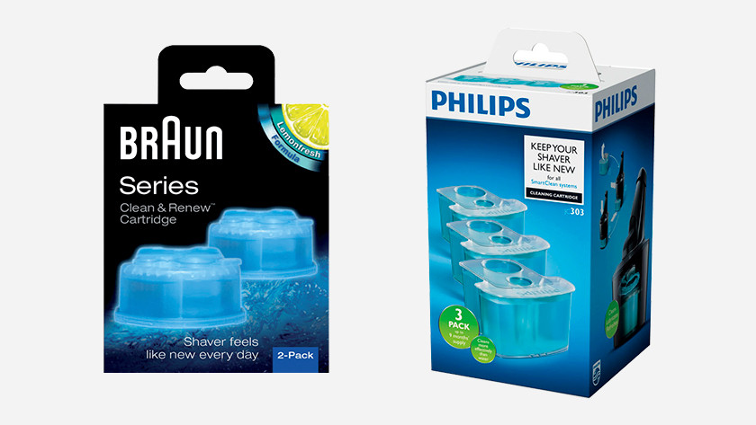 Cleaning fluid cartridges
