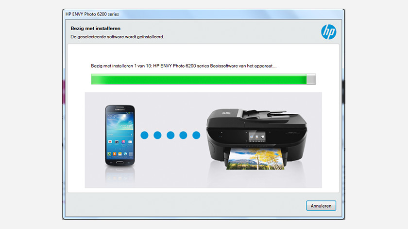 Install software for HP Envy 6234