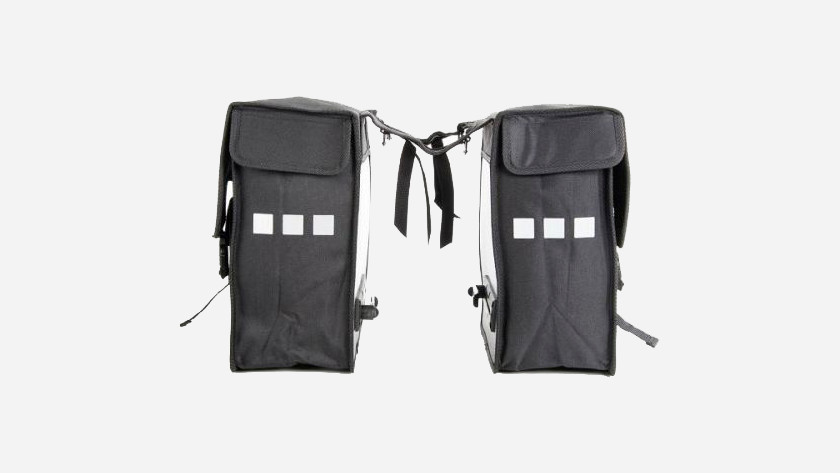 bike bag that attaches with velcro or belts