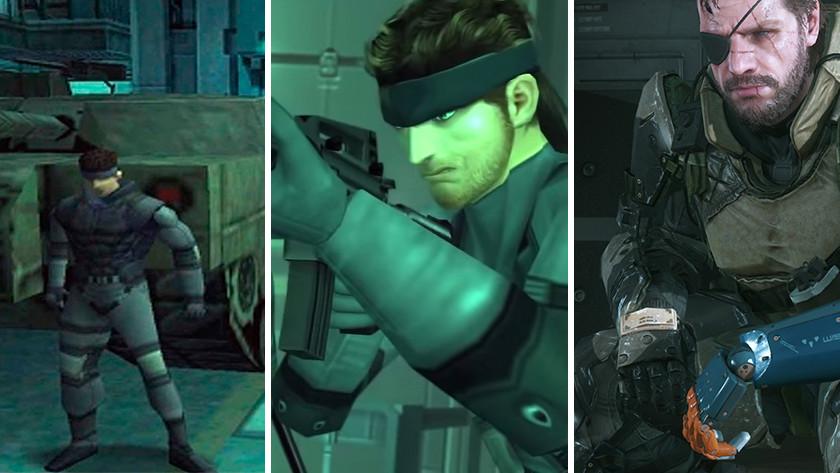 L'évolution de Solid Snake