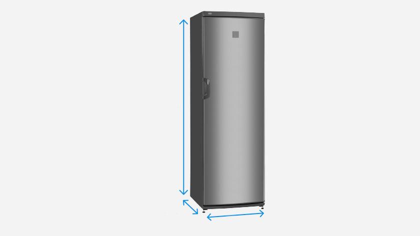 Dimensions d'un réfrigérateur 1 porte