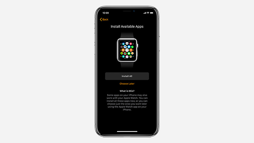Fonctions Apple Watch