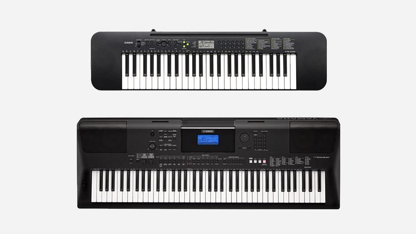 Keyboard aantal toetsen