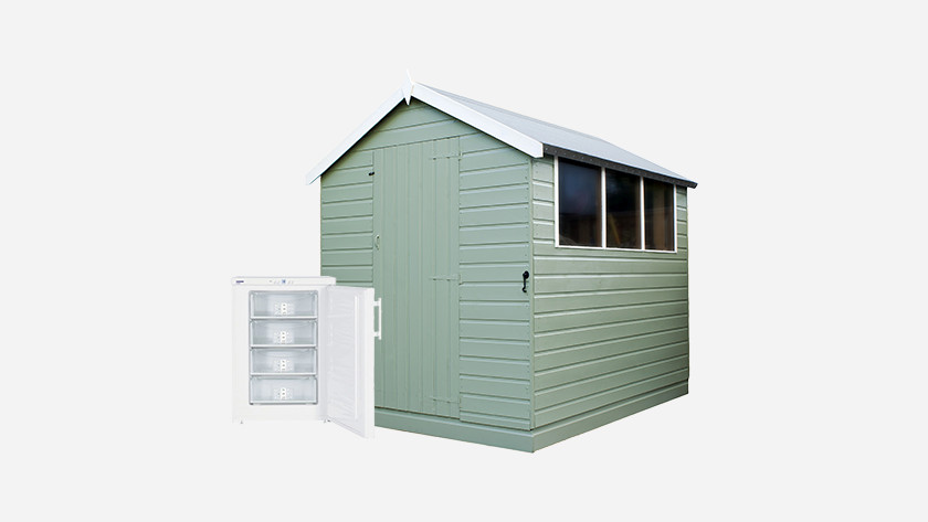 Freezers shed