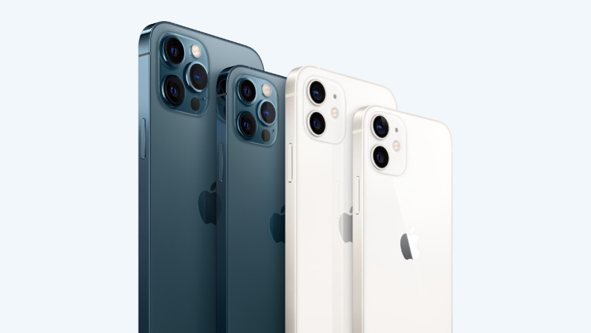 Verschillende iPhone groottes