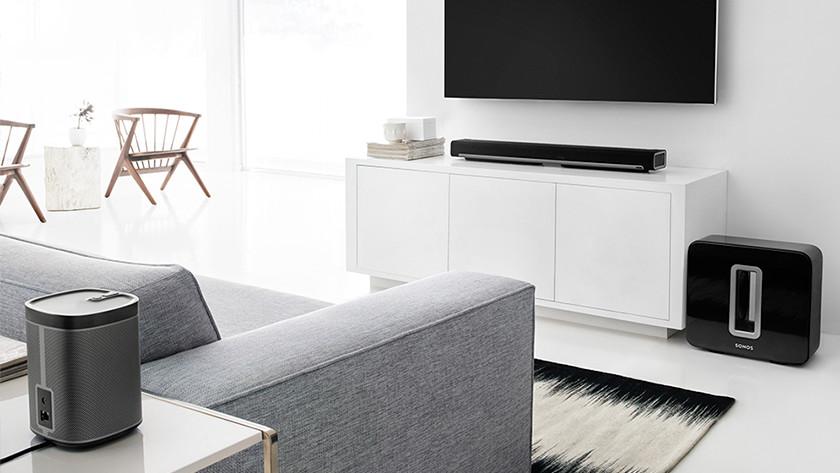 Voeg surround speakers toe voor 5.1 surround