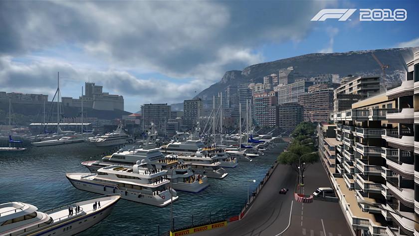 F1 2018 race track
