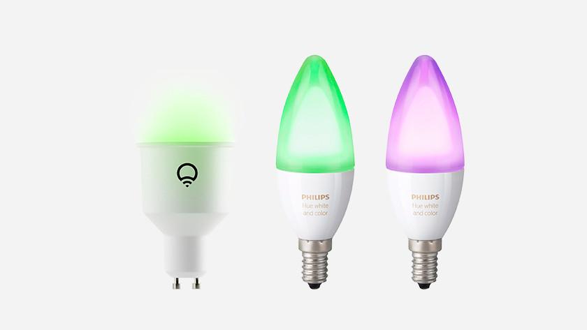 Ampoules connectées séparées