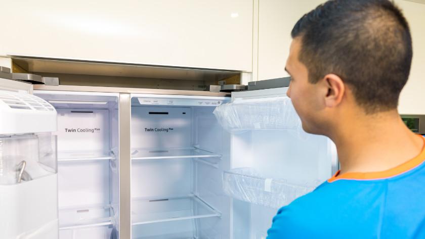 Amerikaanse koelkast problemen