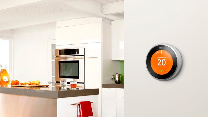 Besparen slimme thermostaat