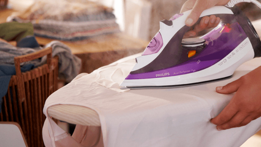 Steam iron for stubborn wrinkles