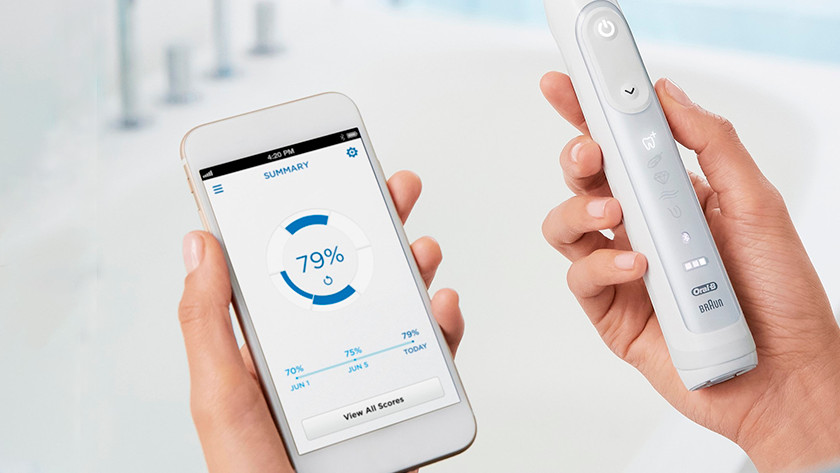 Tandenborstel met app