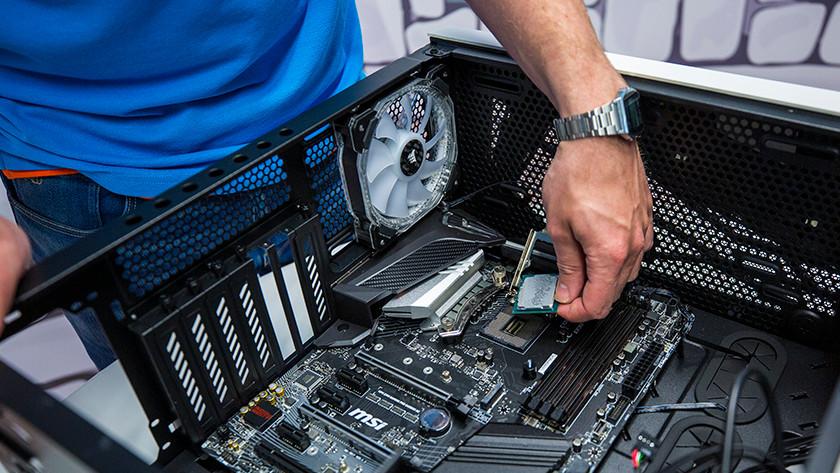 Verwijder huidige processor