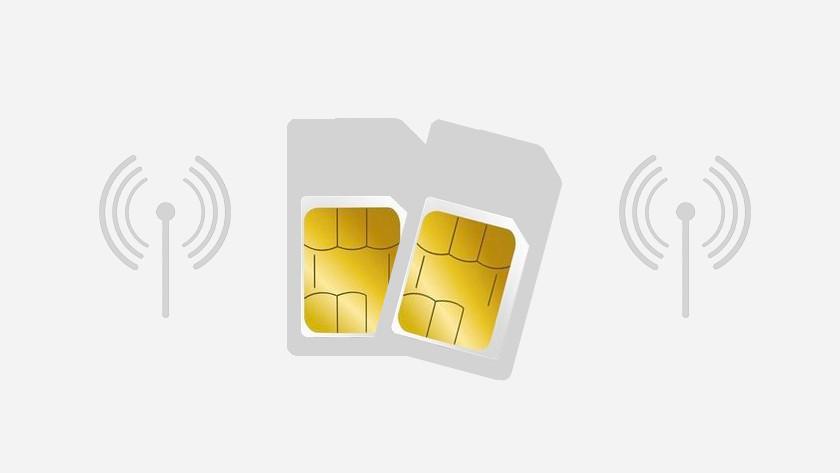 Apple iPhone dual sim beperkt beschikbaar