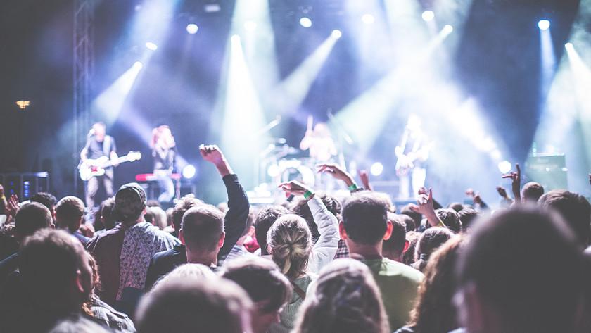 Focal length at concert