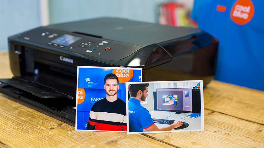 Canon pixma mg5750 met fotopapier