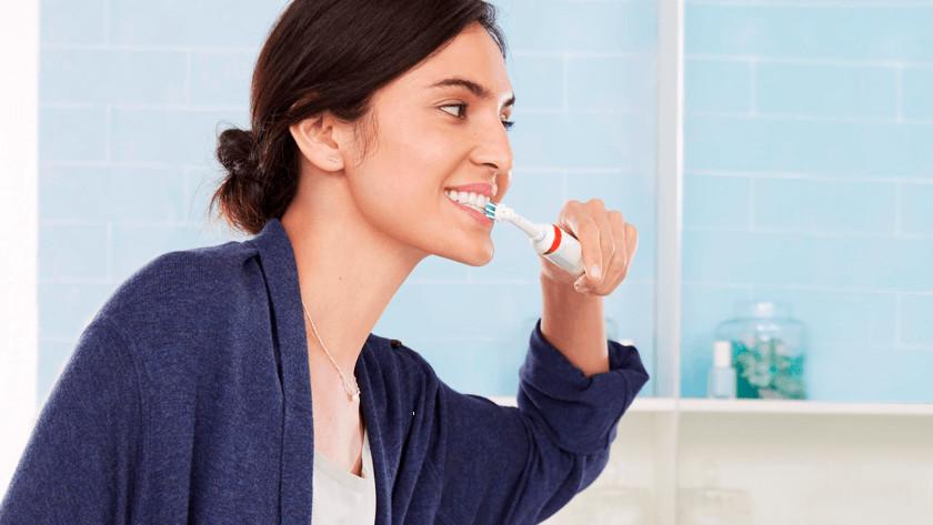 Het gebruiksgemak van een roterende tandenborstel