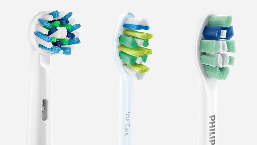 Brossettes pour brosses à dents