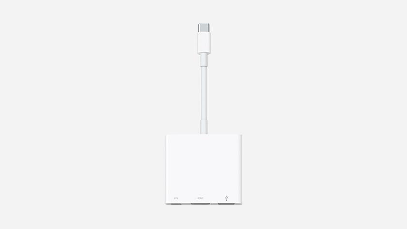 Kabel converter voor Apple MacBook