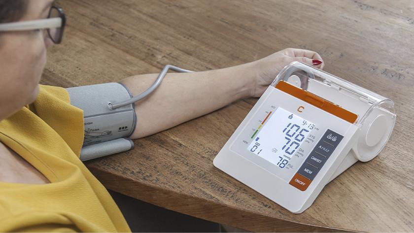 Bloeddrukmeter en manchet