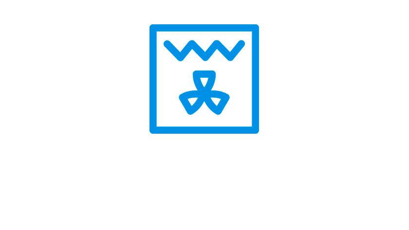 circulatiegrill symbool