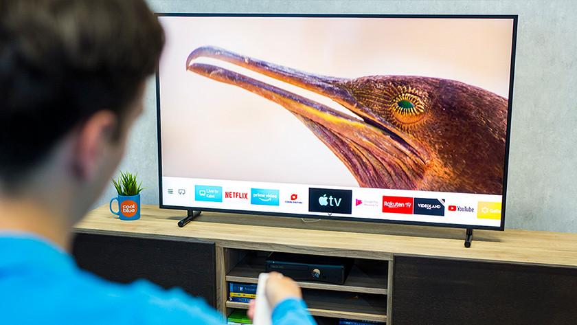 Samsung The Frame smart menu