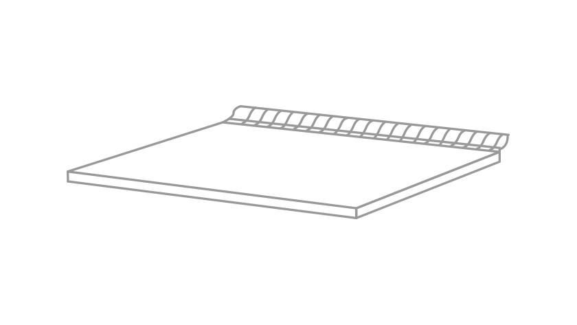 Ventilerende plank