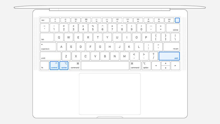 MacBook avec touch ID