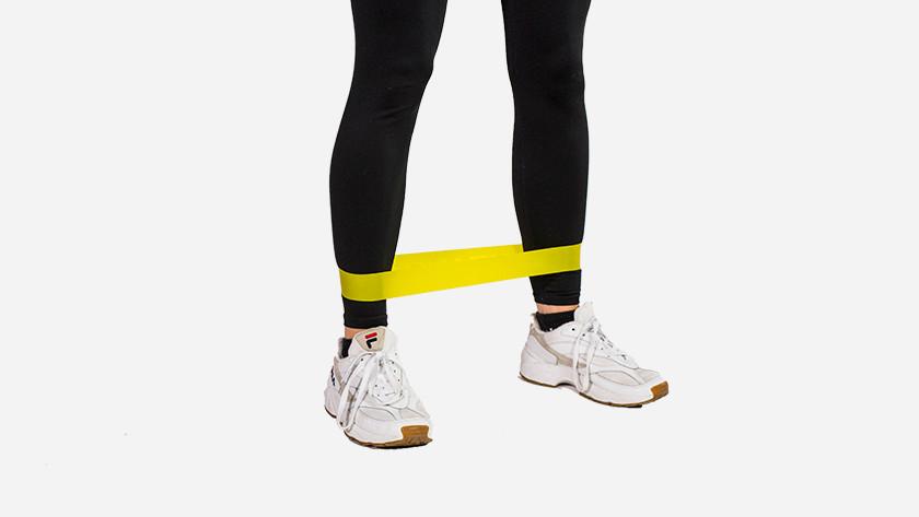 Entraîner vos muscles de jambes avec des élastiques de résistance