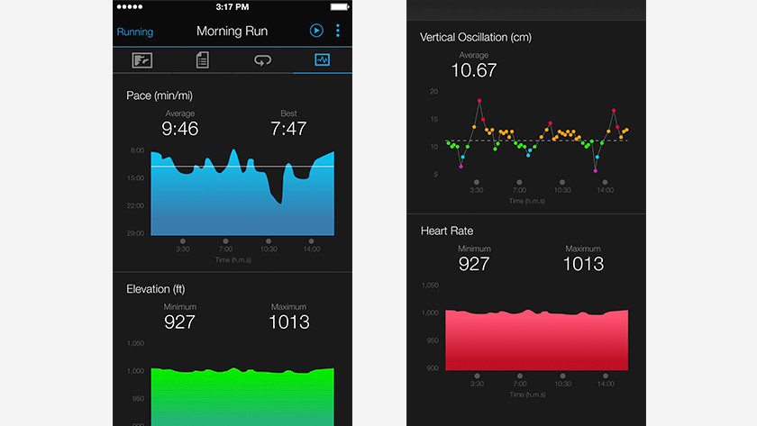 Garmin connect after training