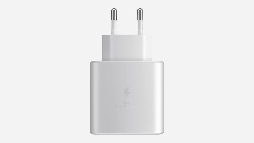 Samsung snelladen via Super Fast Charging