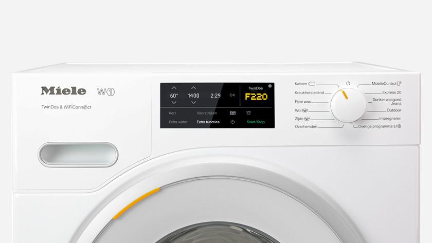Miele washing machine failure F220